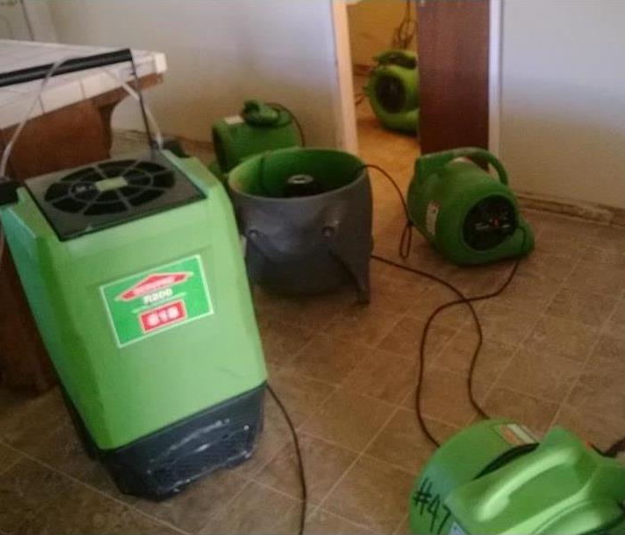 SERVPRO Cleans Home, Dries, and Restores Roof